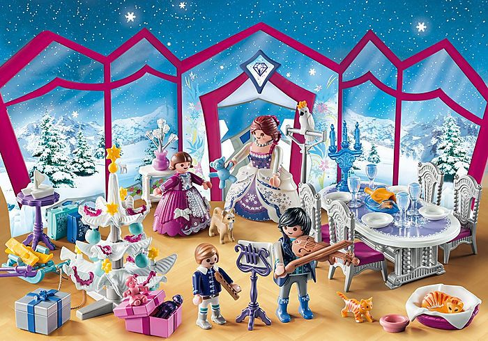 Calendar Advent Balul de Craciun Playmobil, 4 ani+
