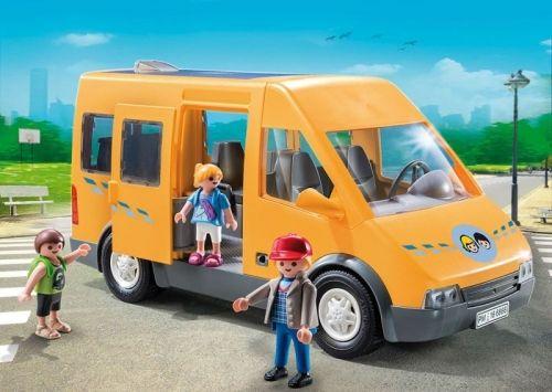 Masina scolara, Playmobil, 4 ani+