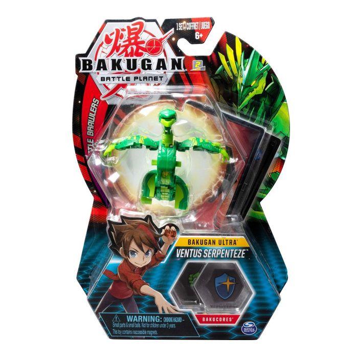 Joc Bakugan Bila Ultra Ventus Serpenteze Leviathan Green Spin Master, 5 ani+