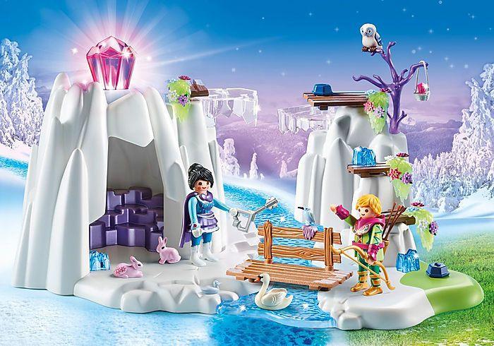 Ascunzatoarea de cristal  Magic Playmobil, 4 ani+