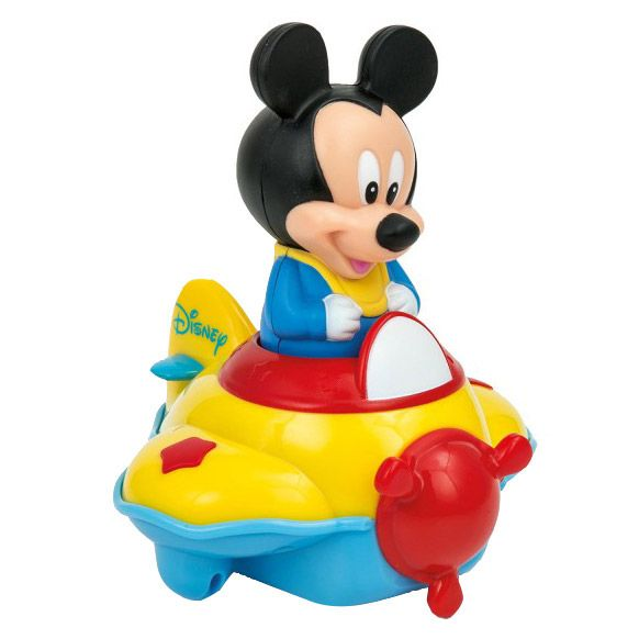 avion muzical mickey mouse disney baieti clementoni CL14246