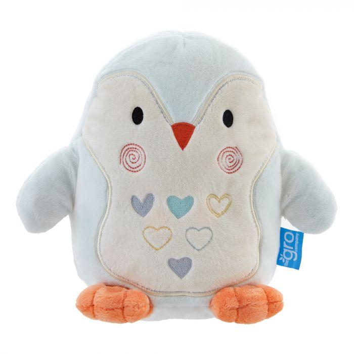 Lampa de veghe Gro Pinguinul Percy, cu sunete, 0 luni+
