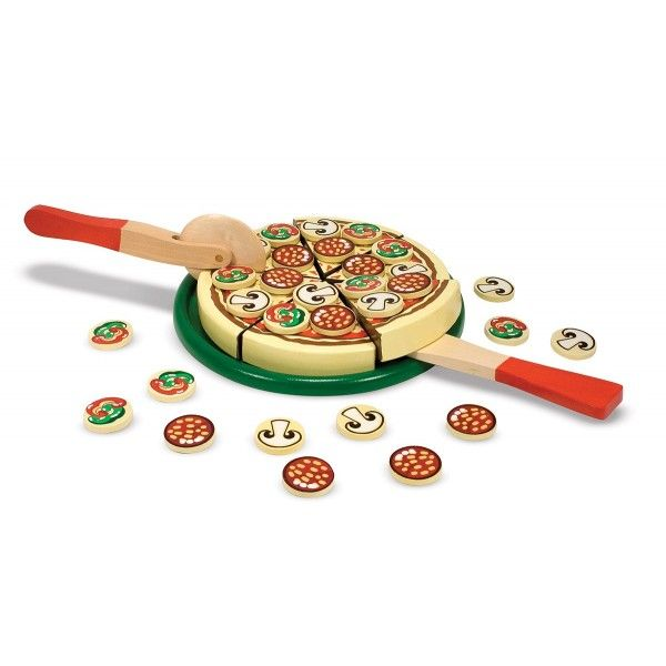 Set de joaca Pizza Party Melissa & Doug, 3 ani+