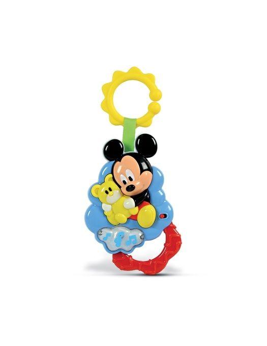 Zornaitoare Mickey Mouse Cu Ursulet Clementoni, 3 luni+