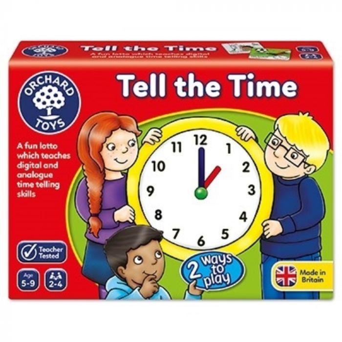 Joc educativ loto Tell the Time Orchard, in limba engleza, 5 ani+