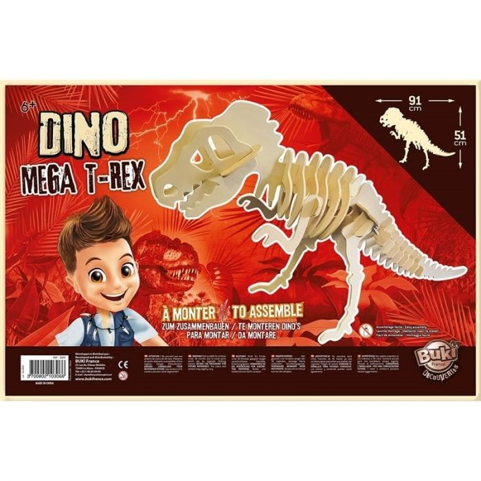 Dino T-Rex Gigant Buki, 6 ani+