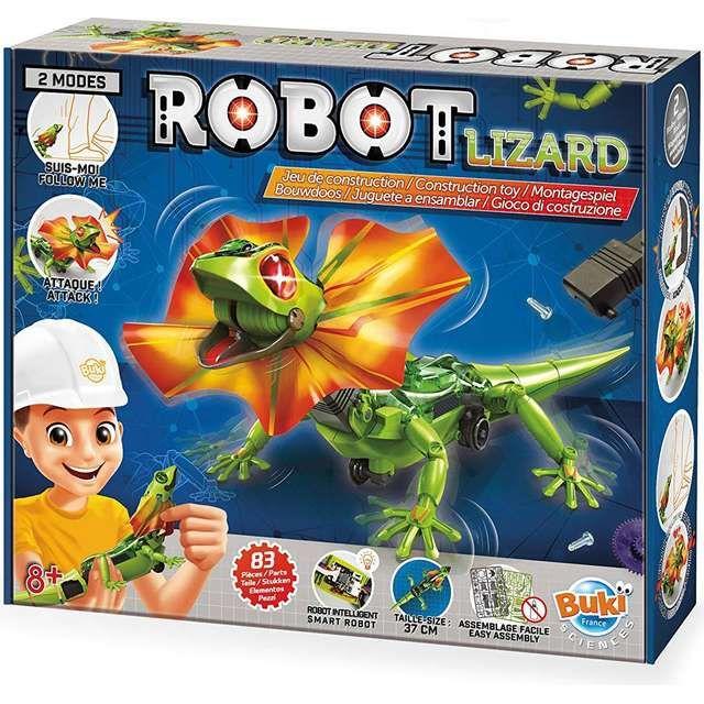 Joc constructie Robotul Lizard Buki, 8 ani+