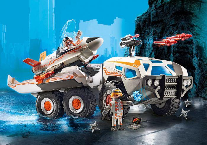 Camionul de lupta al spionilor, Playmobil, 6 ani+
