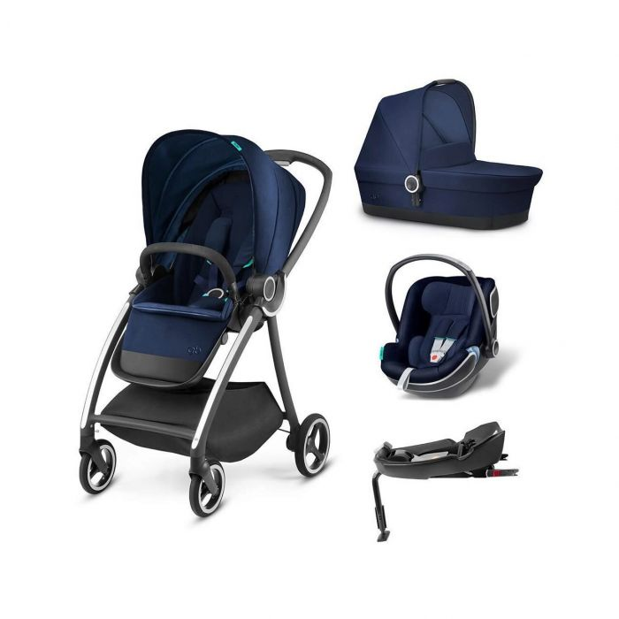 Carucior 4 in 1 Maris SeaPort Blue GB, bleumarin