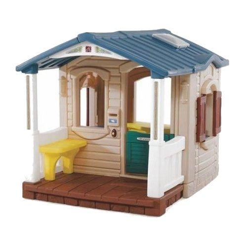 Casuta cu pridvor Naturally Playful Front Porch Playhouse Step2, 18 luni+