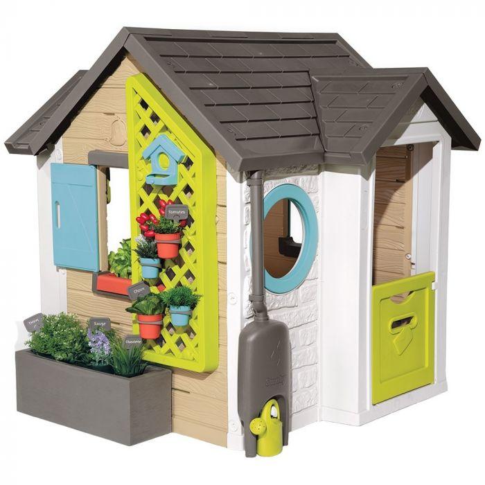 Casuta copii Smoby Garden House, 2 ani+
