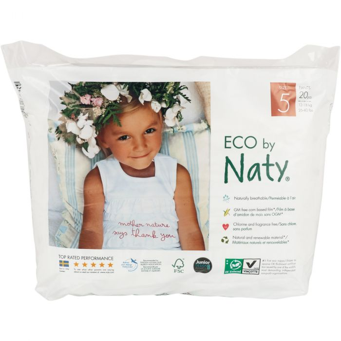 Chilotei antrenament 5 Junior 12-18 kg x 20 buc ECO by Naty