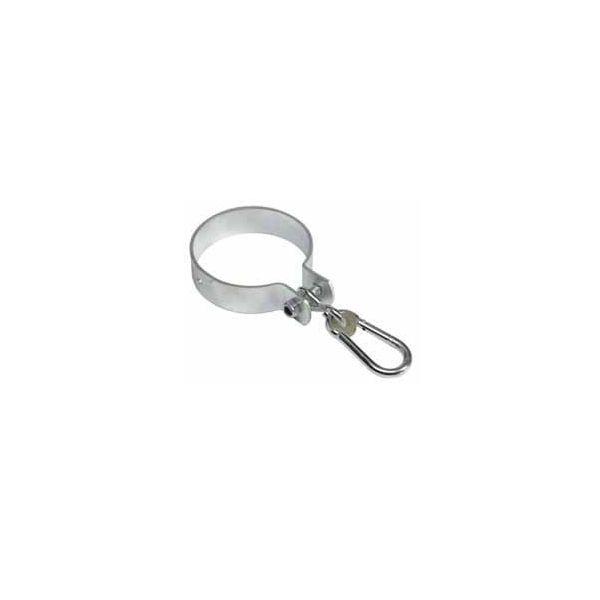 Colier rotund cu carlig pentru leagan Kbt, 120 mm