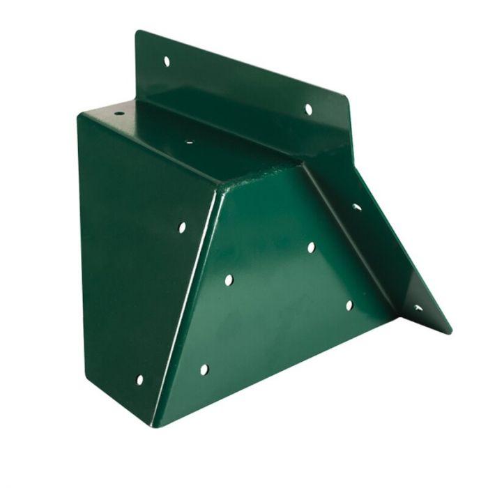 Coltar Universal forma patrata Kbt, unghi oblic, Verde
