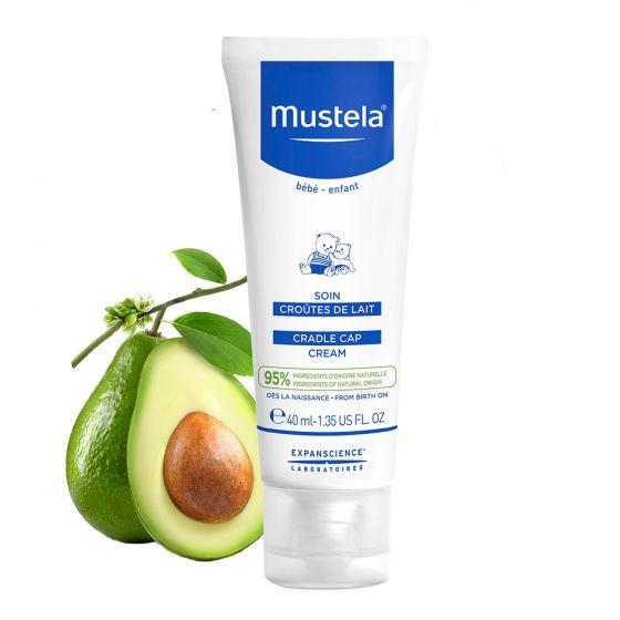 Crema Tratament impotriva crustelor de lapte Mustela, 40 ml