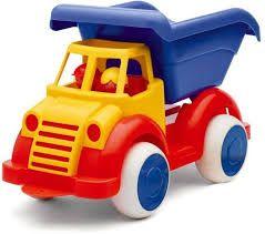 Camion Super VikingToys, cu 2 figurine, 12 luni+