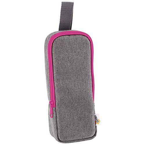 geanta termoizolanta biberon Diago roz