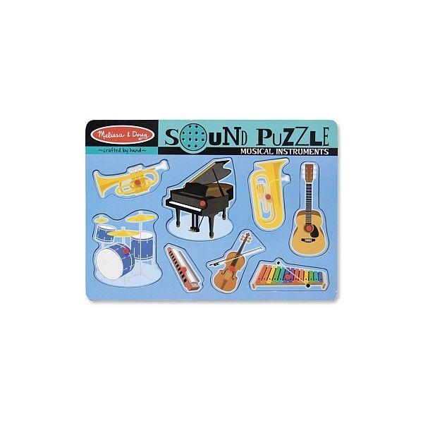 Puzzle sonor Instrumente muzicale Melissa & Doug, 24 luni+