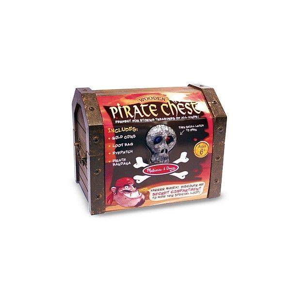 Set de joaca Cufarul piratilor Melissa & Doug, 6 ani+