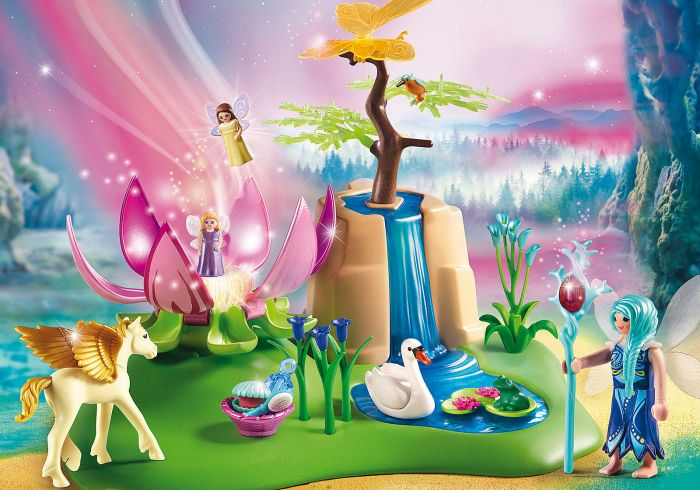 Fantana fermecata a zanelor, Playmobil, 4 ani+