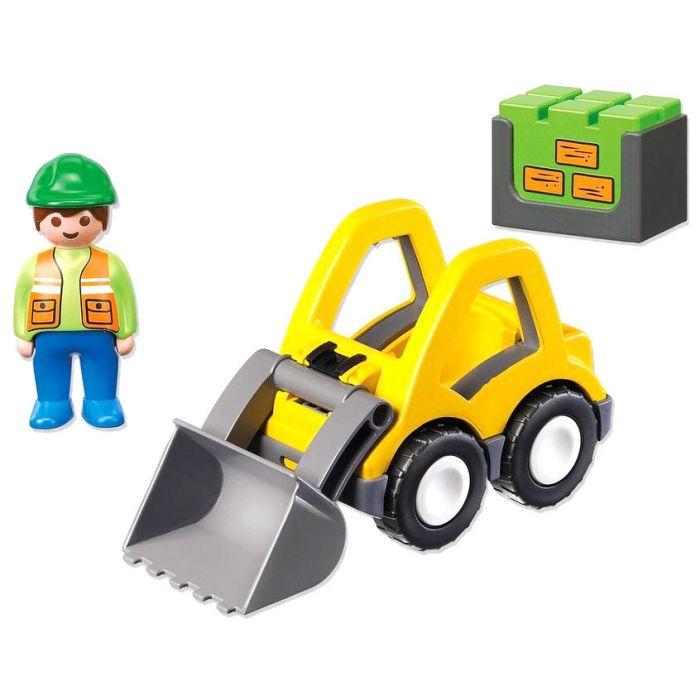 Figurina si excavator Playmobil