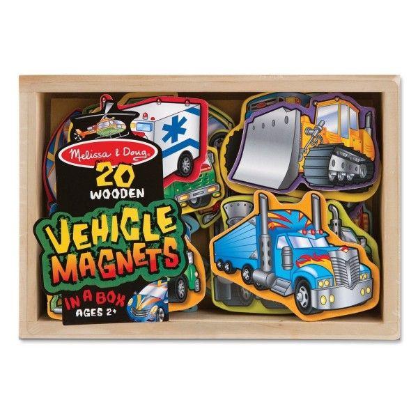 Magneti Vehicule Melissa & Doug, 24 luni+