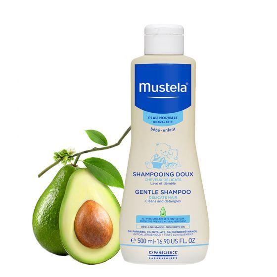Sampon delicat Mustela, fara lacrimi, piele normala, 500 ml