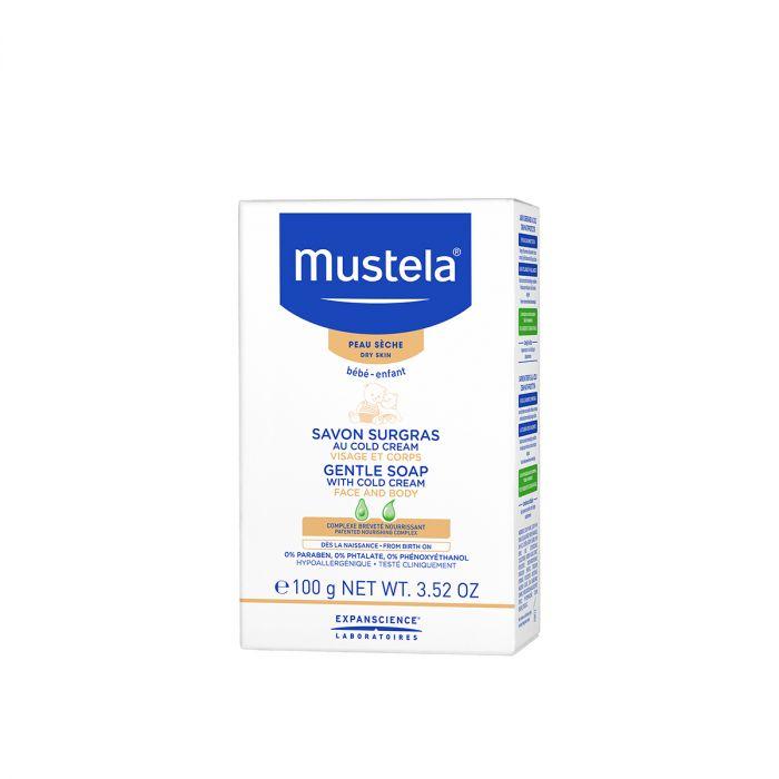 Sapun cu Cold Cream Mustela, piele uscata, 100 g