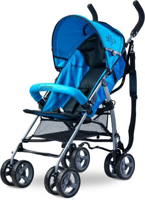 Carucior sport Alfa Caretero Blue, 6 luni+, Albastru