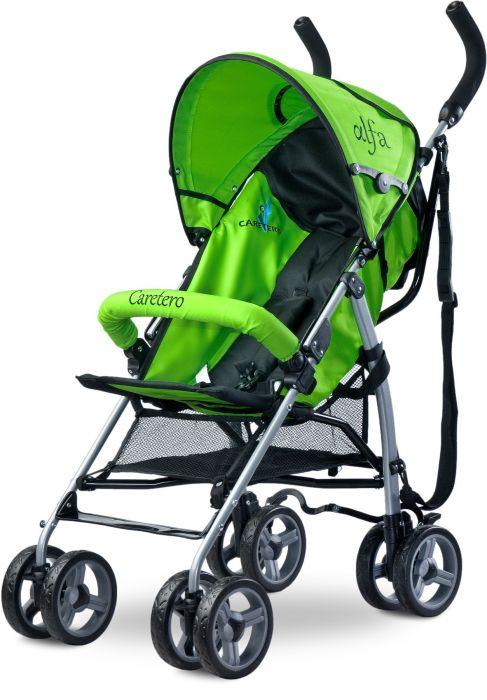 Carucior sport Alfa Caretero Green, 6 luni+, Verde