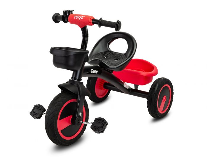Tricicleta Embo Toyz, 36 luni+, Rosu
