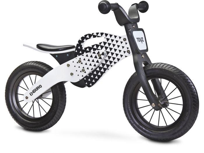 Bicicleta fara pedale Enduro Toyz Grey, 36 luni+