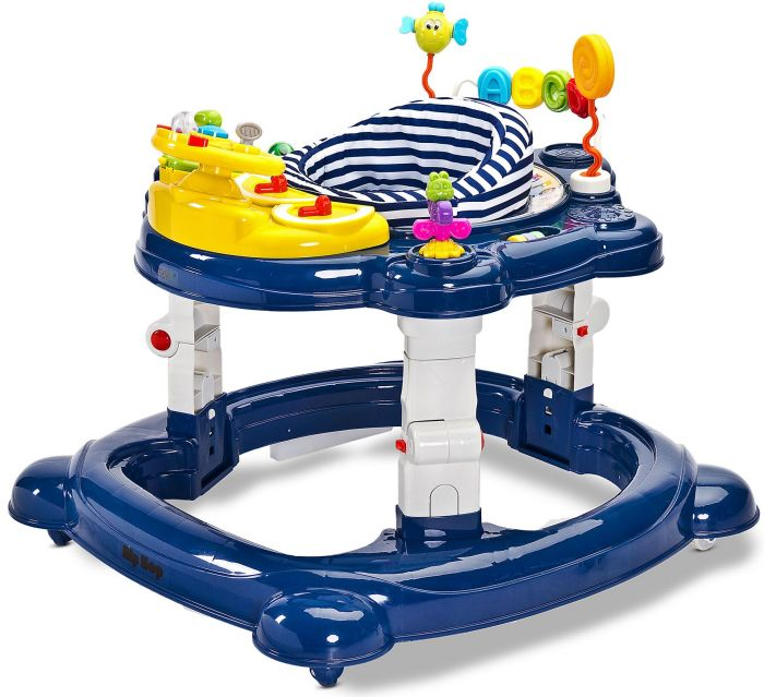 Premergator bebelusi Hiphop 360 Toyz Navy, 6 luni+