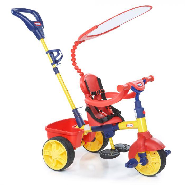 tricicleta 4 in 1 little tikes pentru copii