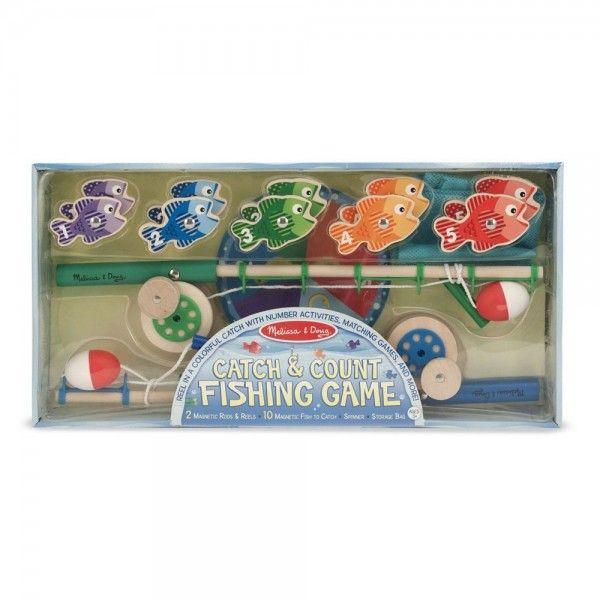 Joc magnetic de pescuit Melissa & Doug, 3 ani+
