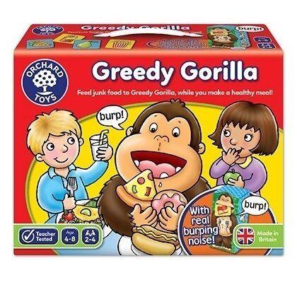 Joc educativ Greedy Gorilla Orchard, in limba engleza, 4 ani+