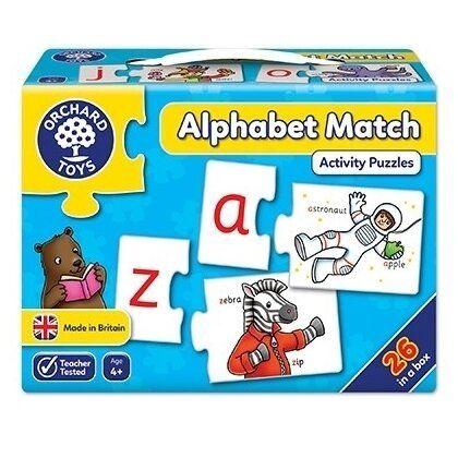 Joc tip puzzle Alphabet Match Orchard, in limba engleza, 4 ani+