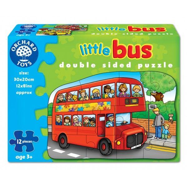 Puzzle fata verso Autobuz Orchards, 12 piese, 36 luni+
