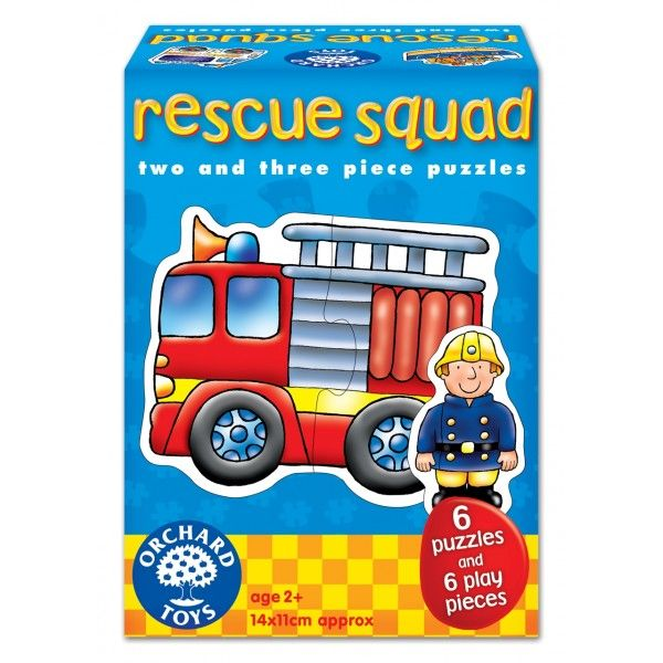 Set 6 Puzzle Echipa de Salvare Orchard, 24 luni+