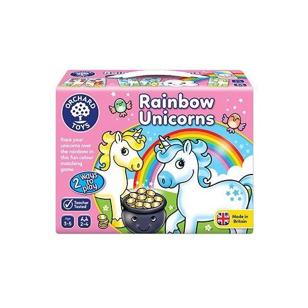 Joc educativ Rainbows Unicorns Orchard, 36 luni+