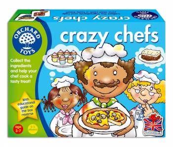 Joc educativ Crazy Chefs Orchard, 36 luni+