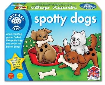 Joc educativ Spotty Dogs Orchard, 36 luni+