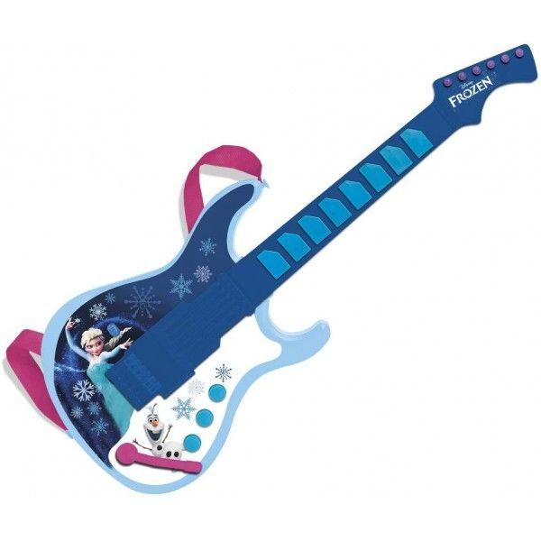 Chitara electronica Frozen New Reig Musicales, 36 luni+