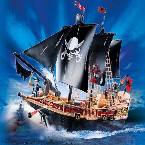 Corabia piratilor, Playmobil, 4 ani+