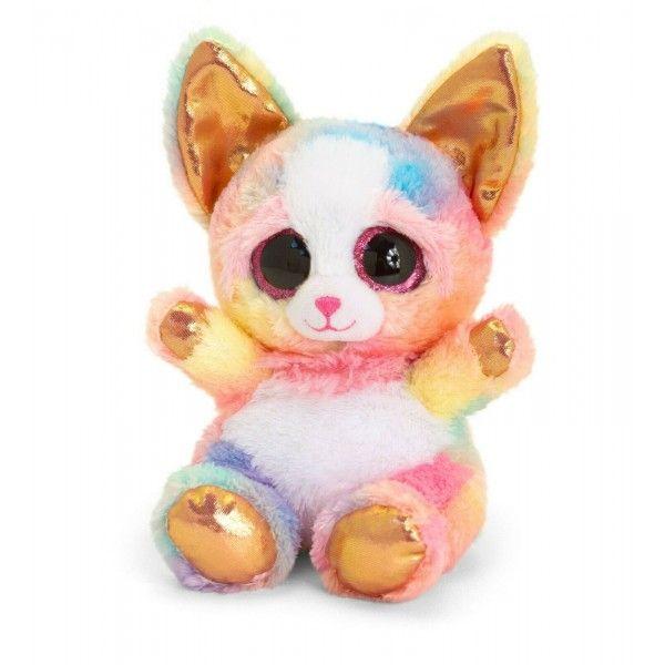 Plus Animotsu, Catel Chihuahua Auriu, Keel Toys, 15 cm, 3 ani+