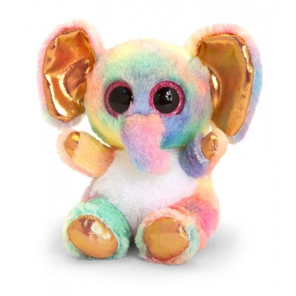 Plus Animotsu, Elefantul Auriu Keel Toys, 15 cm, 3 ani+
