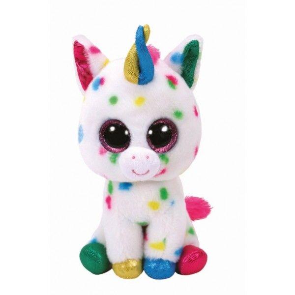 Plus Boos, Harmonie Unicorn Cu Buline TY, 42 cm, 3 ani+