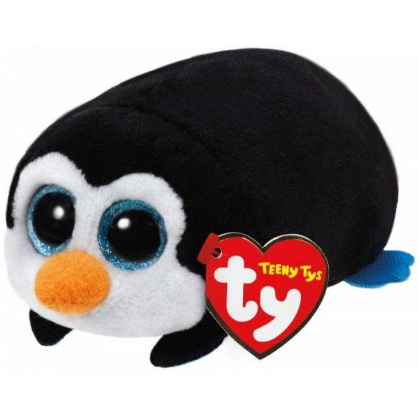 Plus Teeny Tys, Pinguinul Pocket TY, 10 cm, 3 ani+