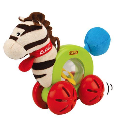 Jucarie cu roti Zebra Ryan K's Kids
