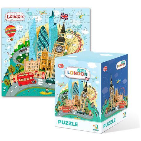 Puzzle Londra Dodo, 120 piese, 6 ani+